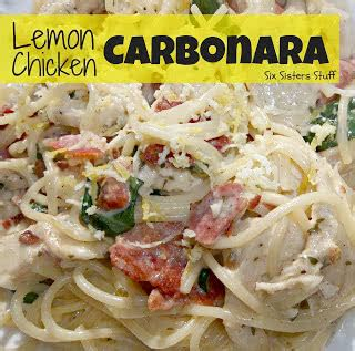 Olive Garden Logan Utah by Lemon Chicken Carbonara Recipe Six Stuff