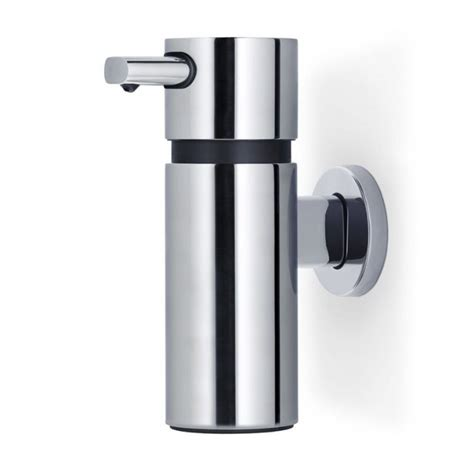 Wall Dispenser Ss blomus areo wall mounted soap stainless steel black by design