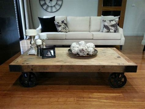 Rustic Coffee Table On Wheels Coffee Table Rustic Wheels Coffee Table Design Ideas