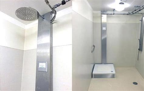 Shower Closer Orbsys Closed Loop Shower Uses 90 Less Water And 80 Less