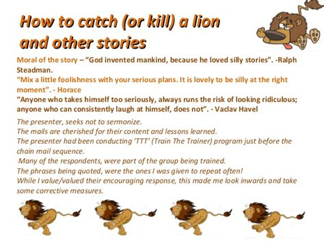 how to catch or kill a and other stories