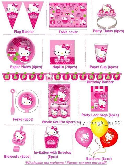 hello birthday banner template free sanrio hello happy birthday supplies letter banner decoration new ebay