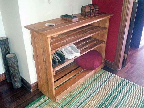 pallet shoe rack guide patterns