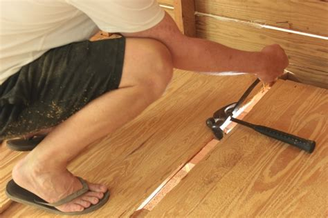 a hardwood floor repair