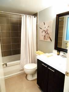 Nice Bathrooms by Not A House But A Home Condo Shopping With Michelle
