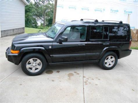 How Much Can A Jeep Commander Tow Sell Used 2006 Jeep Commander 4 7 V8 Sunroof Leather Tow