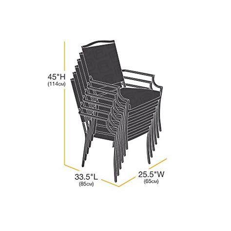 coperture sedie copertura protettiva per sedie impilabili da giardino
