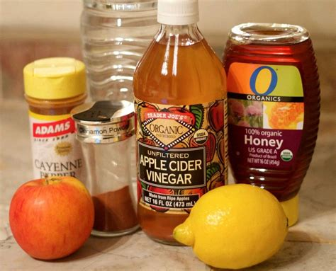 Vinegar Lemon Honey Cinnamon Detox by This Detox Drink Will Flush Everything Out Did I Mention