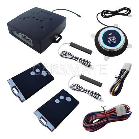 Alarm Keyless new smart car alarm pke car security system passive