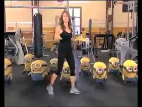 imagenes minions haciendo ejercicio hacer ejercicio nivel minion youtube
