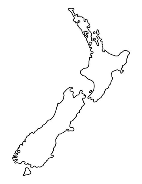 pattern making new zealand new zealand pattern use the printable outline for crafts