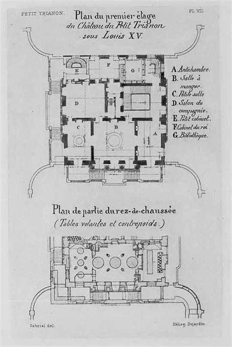 le petit trianon floor plans pinterest the world s catalog of ideas