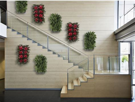 Home Stairs Decoration Plant Portraits Living Wall Art Indoor Green Wall