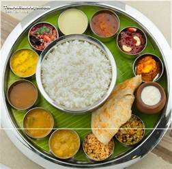 South Food Tourist Attraction India South Indian Food Thali