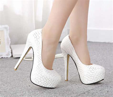 white high heels boots white high heels pumps tsaa heel