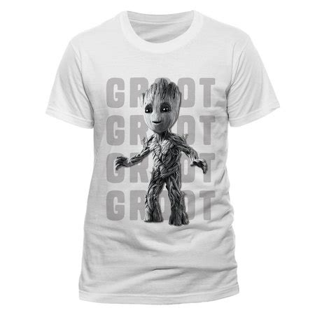 Baby Groot Im Groot Black 2 T Shirt baby groot guardians of the galaxy vol 2 official unisex white t shirt buy guardians of the