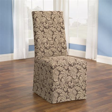 Slipcovers For Dining Chairs Without Arms - slipcovers for dining room chairs without arm in