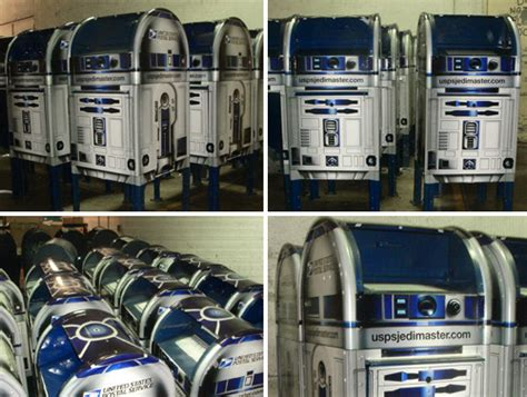 Post Office Mailboxes For Sale by R2 D2 Themed Mailboxes Not So Ago At A Post Office