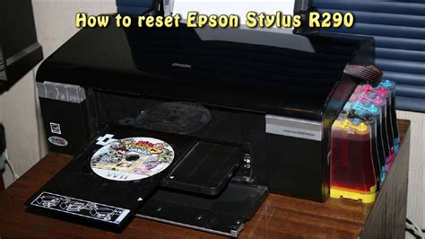 resetter r290 epson reset epson r290 waste ink pad counter youtube