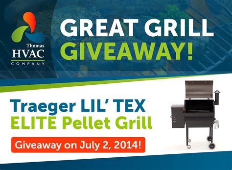 Great Giveaway - great grill giveaway thomas hvac company