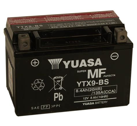 Susumu Suzukis Water Powered Battery by Yuasa Ytx9 Bs Replacement Battery For Motorcycle 12v Lead
