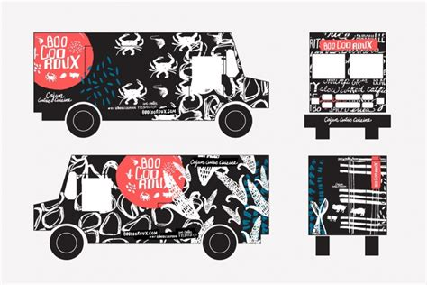 Food Truck Branding School Your Name And Logo Made For Food Trucks Food Truck Wrap Design Template