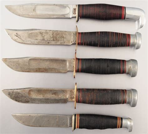 100 floors knife collection of 5 knives ka bar