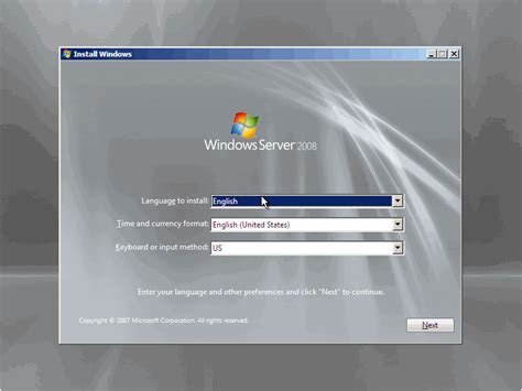 installing xp on windows server 2008 how to install windows server 2008 step by step petri