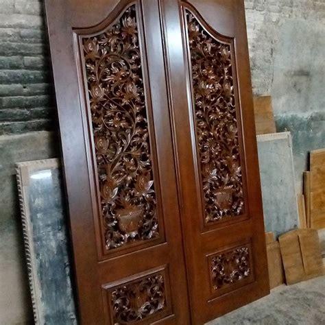 Nan Kotak Ukir Kayu Jati pintu rumah ukir kayu jati cahaya mebel jepara