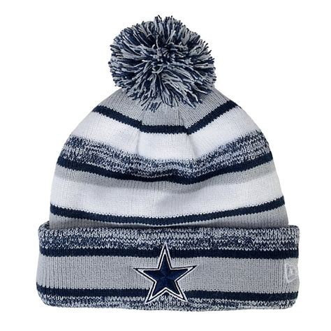 dallas cowboys knit hat dallas cowboys new era sideline sport knit cap cold