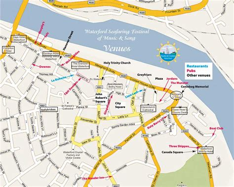 map of waterford city hooks crookes