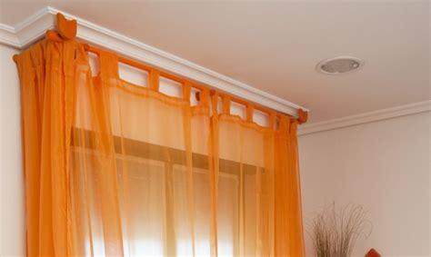 como colocar las cortinas modificar la barra de las cortinas en ventana con caja de