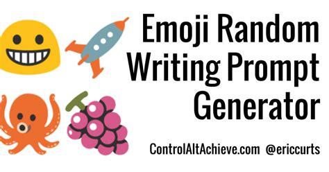 emoji generator control alt achieve emoji writing prompt generator with