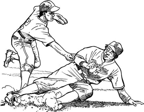 angels baseball coloring page los angeles dodgers drawings