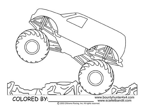 Monster Jam Coloring Pages Coloring Home Jam Coloring Pages