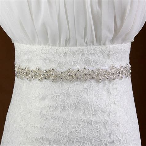 2015 handmade bridal sash belt luxury rhinestone wedding