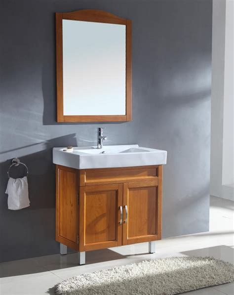 bathroom vanities 31 inch 31 5 inch modern single sink bathroom vanity in honey oak