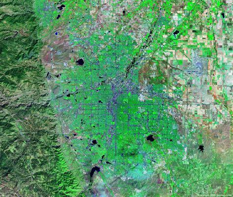 satellite map of colorado denver satellite map