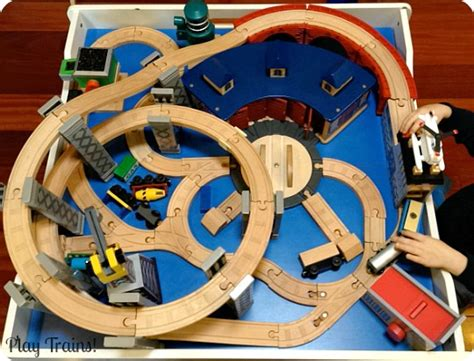 Three Small Trains Wood Toys the play trains guide to the best wooden sets 2017