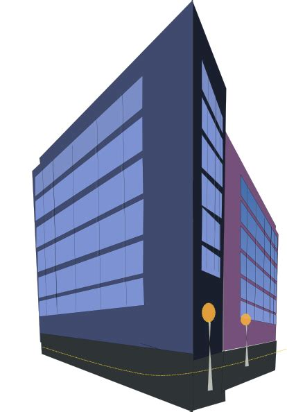 building clipart commercial building clip at clker vector clip