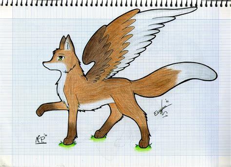 imagenes de anime zorro zorro con alas by erogan21 on deviantart