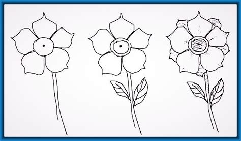 Imagenes De Flores Para Dibujar Faciles Paso A Paso | maravillosas imagenes para dibujar faciles a lapiz paso a paso