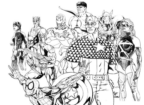 avengers  wolverine coloring page