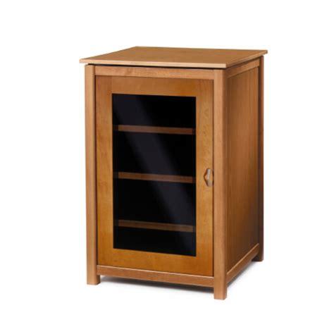 components five shelf audio cabinet in mocha