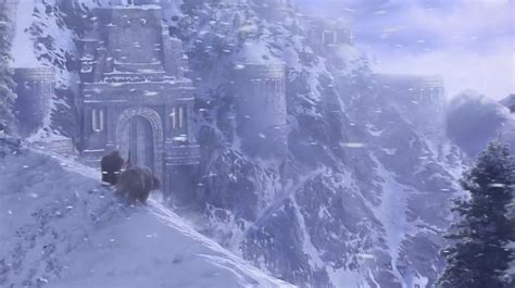 Dwarven Hunter Overlooking Ironforge with his Bear
