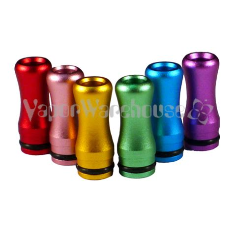 Silicone Rubber Drip Tip Vaporizer Multi Color 6 pack multi colored drip tip mouthpieces for persei o