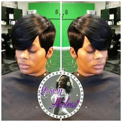 27 piece short side bob short 27 piece with swoop quickweaves pinterest