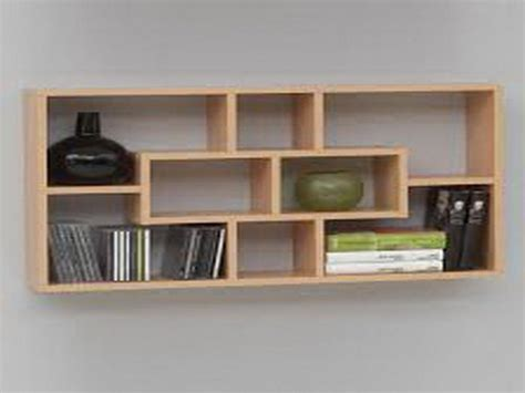 ideas wooden plumtree wall shelves for books wall