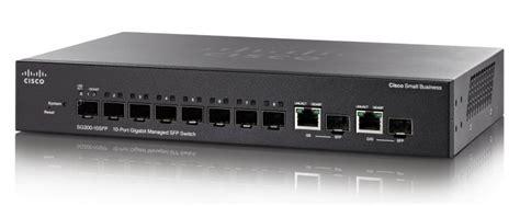 porta smb cisco sg300 10sfp 10 port gigabit managed sfp switch cisco
