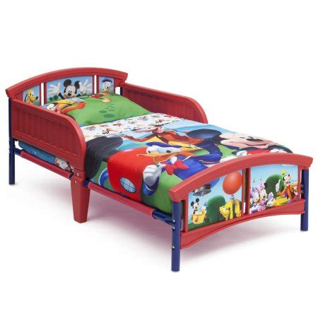 mickey mouse beds for toddlers mickey mouse plastic toddler bed walmart com